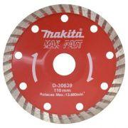 Disco de Corte Diamantado Côncavo para Marmore/Granito D-30639 -Makita