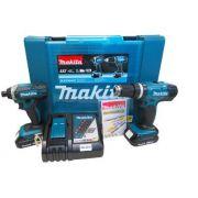 Kit Combo à Bateria DTD152+DHP453 DLX2142AX2 -  Makita