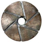 Abrasivo Para Acabamento em Máquinas Poliborda Metálico 125mm - Colar