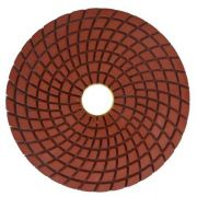 Disco de Polimento Flexível Para Mármores e Granitos Saint 100mm - Colar