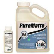 PureMatte -  Verniz Bicomponente 100% PU à Base de Água + Catalisador