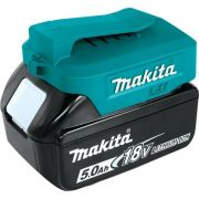 Kit Carregador de Celular (Power Bank) + Bateria 18V 5Ah + Carregador de Baterias Bivolt - Makita