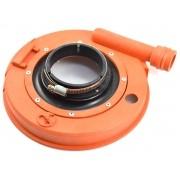 Coletor de Pó Para Lixadeira 180mm Com Suporte e Flange Modelo Bosch