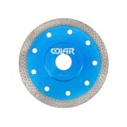 Disco de Corte Reforçado Turbo Fino para Porcelanato - Colar