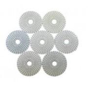 Disco de Polimento Para Mármore e Granito 100mm - Norton