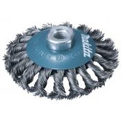 Escova Fios de Aço Trançado Tipo Côncova para Esmerilhadeira - Makita - Caixa