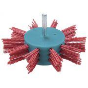 Escova Fios de Nylon Grosso Tipo Flap D-45749 Para Furadeira 100x6mm - Makita