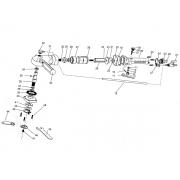 Peças de Reposição: Politriz Elétrica Longa em Alumínio - DIA4512