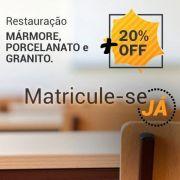 SUPER PROMOÇÃO!!! Curso Restauração de Mármore, Porcelanato e Granito