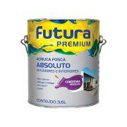 Tinta Acrílica Fosco Absoluto - Futura Premium - 3,6 Litros
