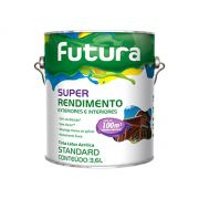 Tinta Látex Acrílica Super Rendimento Futura - 3,6 Litros