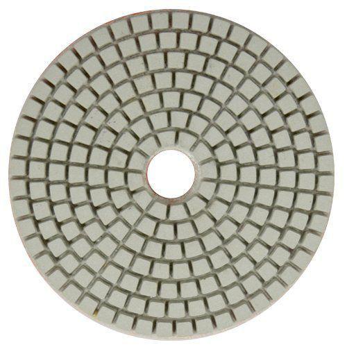Disco de Polimento Flexível Para Silestone, Marmoglass e Nanoglass Gamma 100mm - Colar  - COLAR