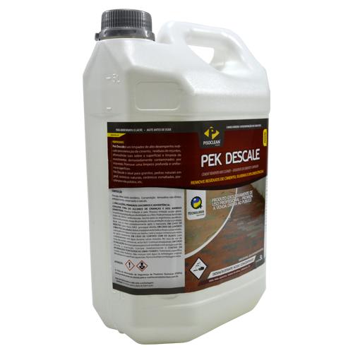 Pek Descale 5 Litros - Removedor de Cimento, Sujeiras e Eflorescências  - COLAR