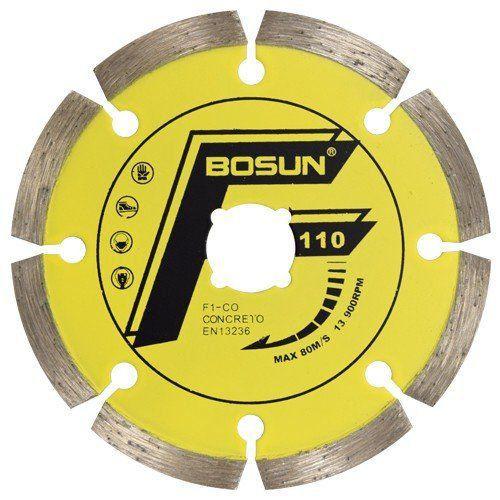 Disco Diamantado Liso Segmentado Concreto F1-CO-C - Bosun  - COLAR