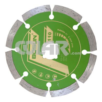 Disco Diamantado Liso Segmentado Concreto F2-CO-C - Bosun  - COLAR
