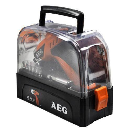 Parafusadeira a Bateria SD 4 e LI - 110V - AEG SAP44555  - COLAR