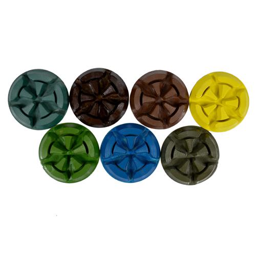 Disco de Polimento Rígido Para Concreto e Pedras Ornamentais T-Bone 85mm - Colar  - COLAR
