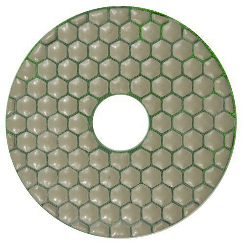 Disco de Polimento Flexível Para Mármores, Granitos e Pedras Ornamentais Dry Flex CH 125mm - Colar  - COLAR