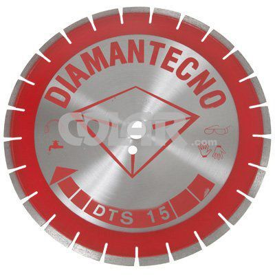 Serra Diamantada Para Concreto DTS15 350mm - Diamantecno  - COLAR