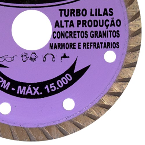 Disco Para Serra Mármore Turbo - DiamanGlass  - COLAR