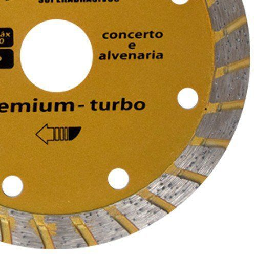 Disco Para Serra Mármore 110mm Premium Turbo - Shark