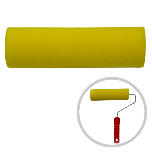 Rolo Para Pintura (Esmalte, Verniz, Acrílica e PVA) - 23cm - Atlas  - COLAR