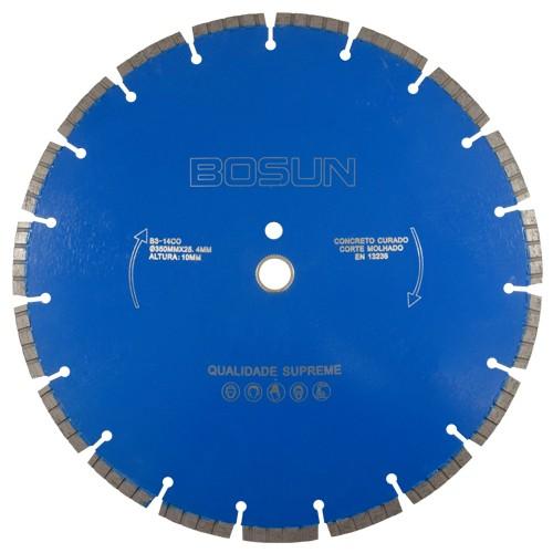 Serra Diamantada Para Concreto B3-14CO 350mm - Bosun  - COLAR