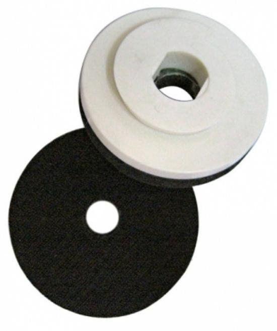 Suporte Lixa Caracol 4 Polegadas (100mm) com Velcro e Espuma  - DM  - COLAR