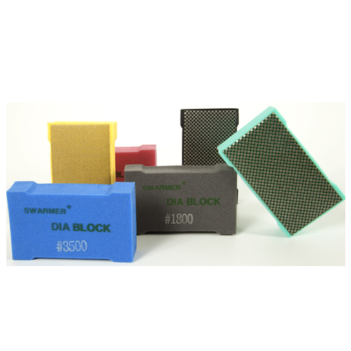Placa Abrasiva Hand Pad - Colar  - COLAR