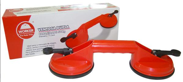 Ventosa Dupla Worker  - COLAR