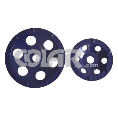 Rebolo Diamantado - SR Azul Para Remoção de Epóxi  - COLAR