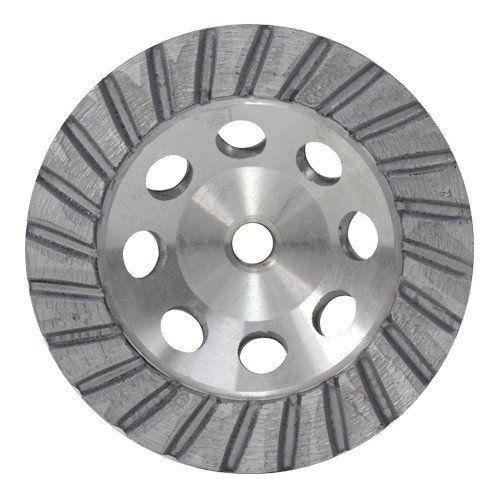 Rebolo Diamantado Alumínio de 100mm a 125mm M14 Gr 036  - COLAR