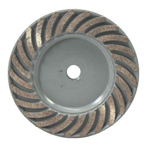 Rebolo Diamantado 115mm M14 Gr 036 Cinza  - COLAR