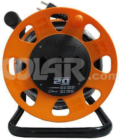 Extensao Maxi 20M Circular Laranja Cabo 2X2,50  - COLAR