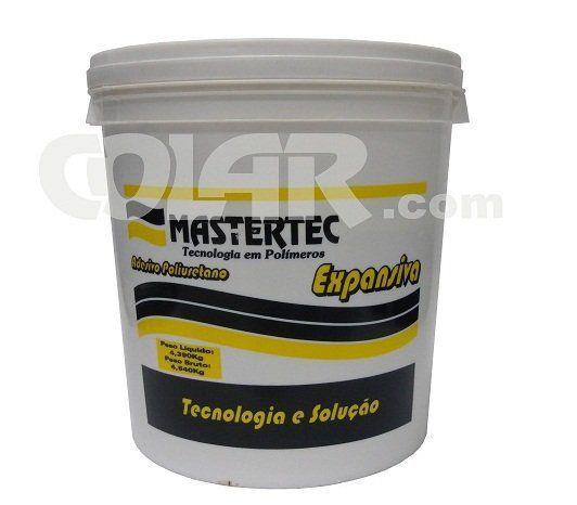 Cola PU Expansiva 4,5kg - Mastertec  - COLAR