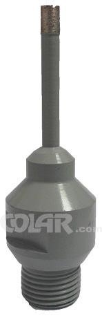 Broca Copo Diamantado 006mm a 160mm Cinza  - COLAR