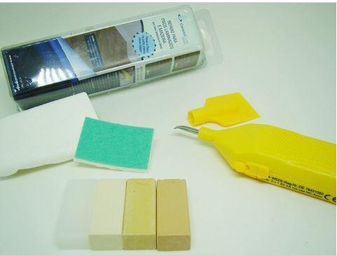 Kit Reparo Para Pisos Laminados Tons Branco e Claros - CeramiCure  - COLAR