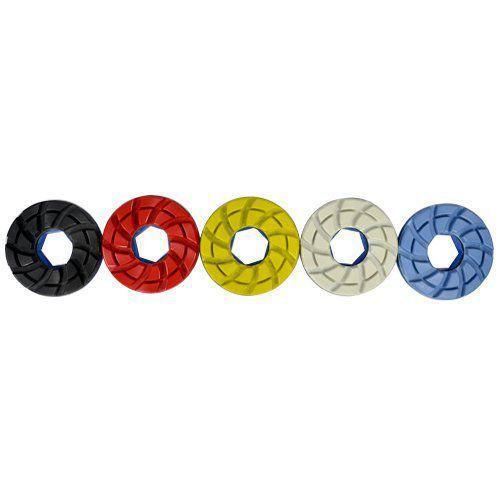 Disco Para Polimento de Borda Reta Poliborda Glossfire Toro 125mm - Colar  - COLAR