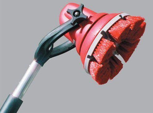 Escova Motorizada a Bateria 12 VOLTS - Cabo 0,750m  - COLAR