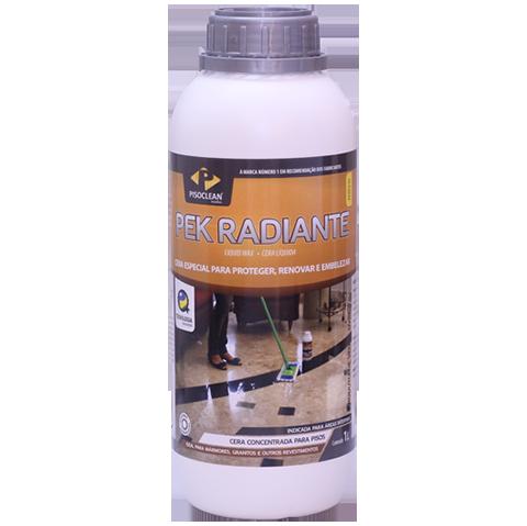 Pek Radiante 1 Litro - Brilho, Proteção e Manutenção de Mármores e Granitos   - COLAR