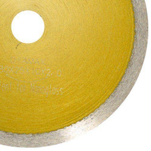 Disco Para Serra Mármore Continuo Nanoglass 180x10mm - DM  - COLAR