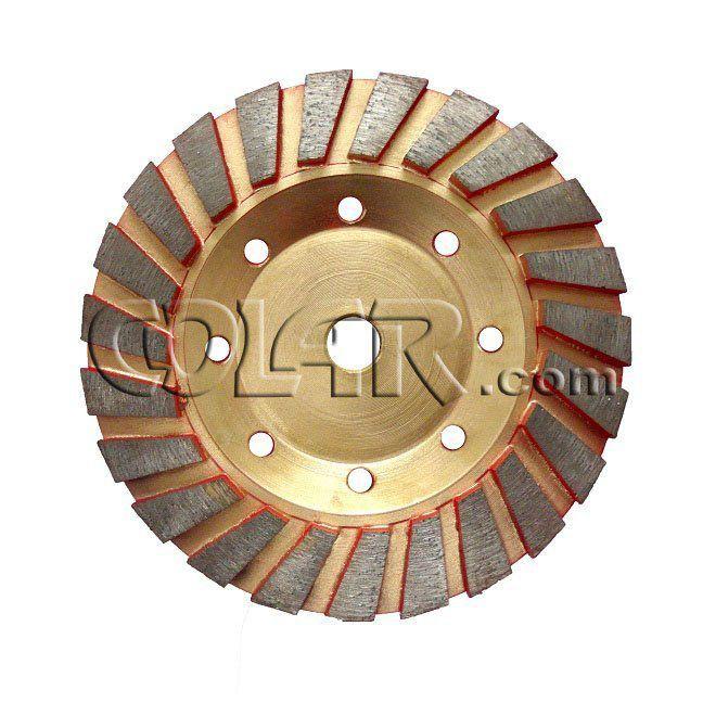 Rebolo Diamantado Vermelho 125mm M14 Para Concreto  - COLAR