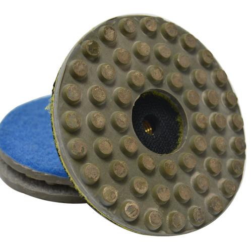 Suporte de Lixa 4 Polegadas (100mm) com Velcro - Borracha - Colar  - COLAR