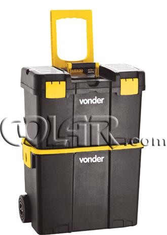 Caixa Plastica Com Roda CRV 0300 - Vonder  - COLAR