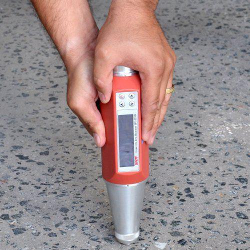 Esclerômetro Digital / Medidor de Dureza do Concreto - Colar
