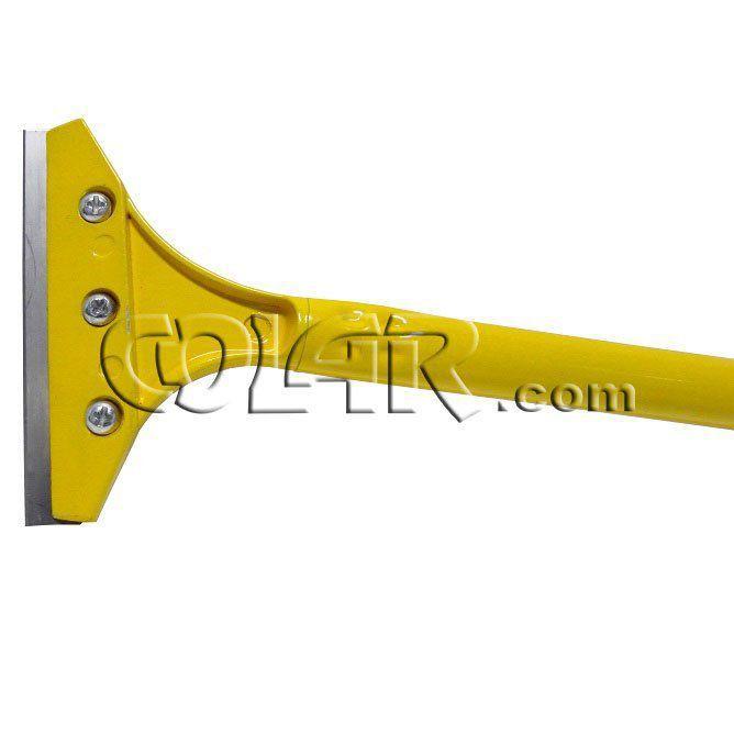 Raspador Amarelo Cabo 1m Lâmina 10cm  - COLAR