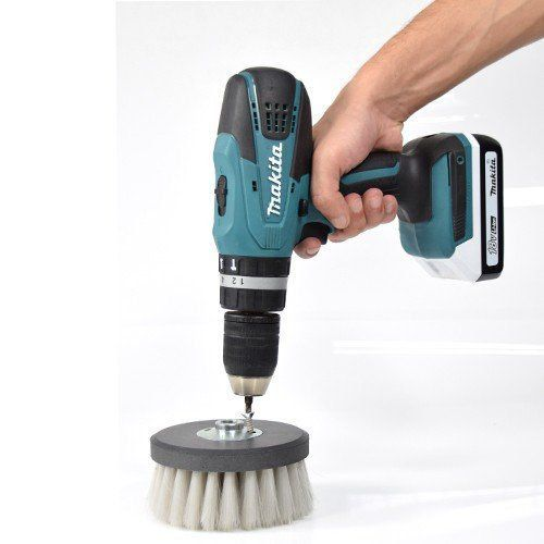 Escova de Nylon Para limpeza De Estofados e Carpetes 120mm  - COLAR