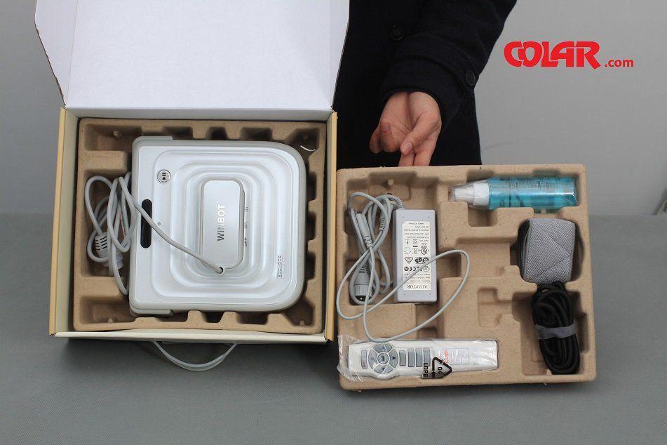 Robo Limpa Vidro W730 - Winbot  - COLAR