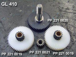 Engrenagem Para Enceradeira / Conservadora GL 410mm Certec  - COLAR