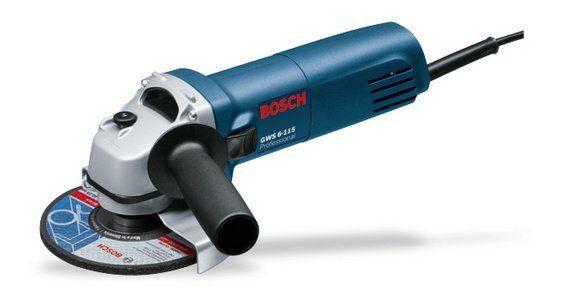 Esmerilhadeira Angular 4.1/2 GWS 6-115 Professional - Bosch  - COLAR